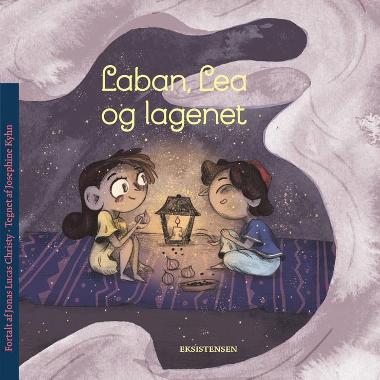 Laban, Lea og lagenet - bog