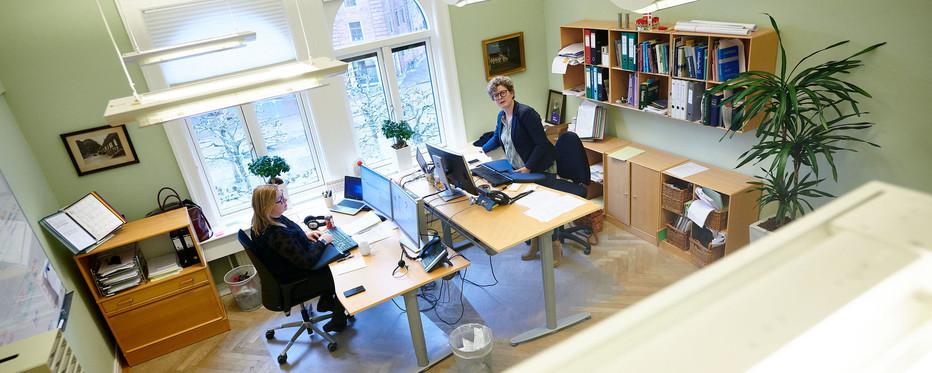 Billede af kontormiljø