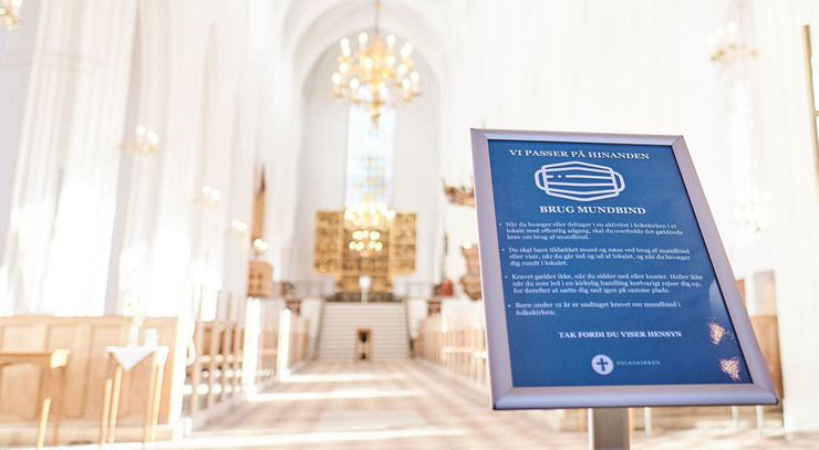Kirkerummet i Odense Domkirke