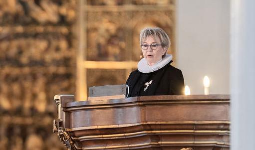 Præst der prædiker