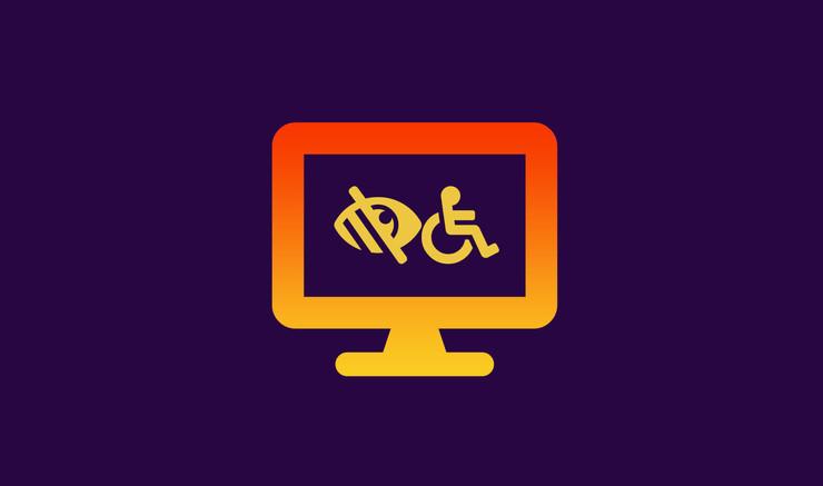 ikon for webtilgængelighed