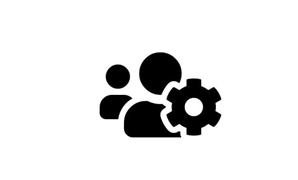 Inddrag brugerne - ikon