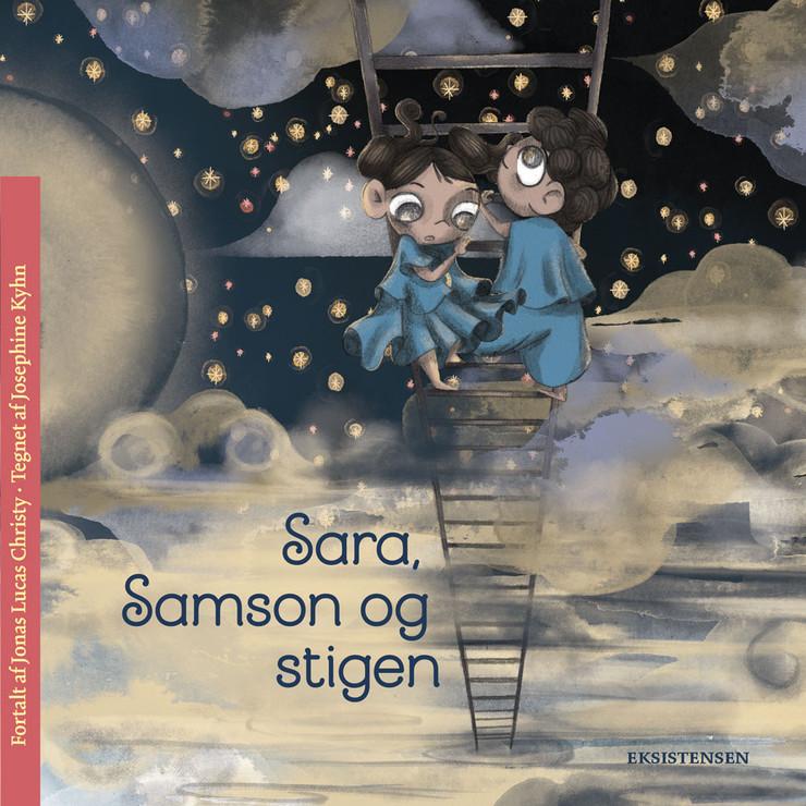 Sara, Samson og stigen - bog