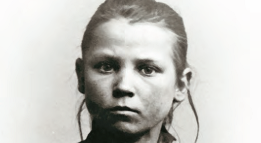 Pige fra fattiggården 1902