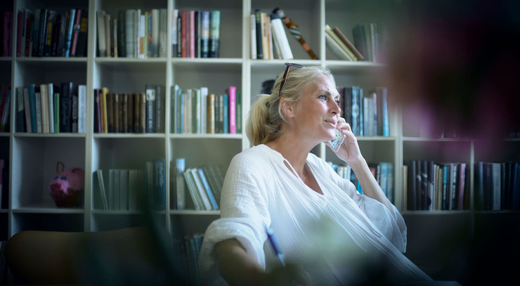 Sognepræst Eva Fischer Boel i Munkebo var med til at starte en telefonkæde under coronalukningen
