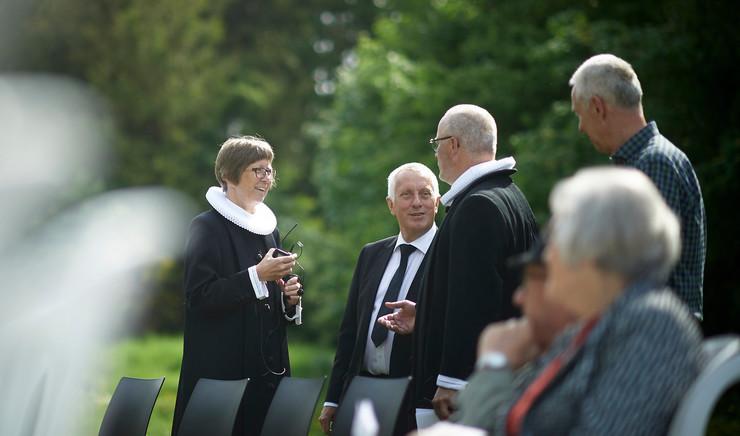 Præster i det fri