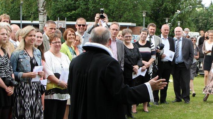 Præst og publikum
