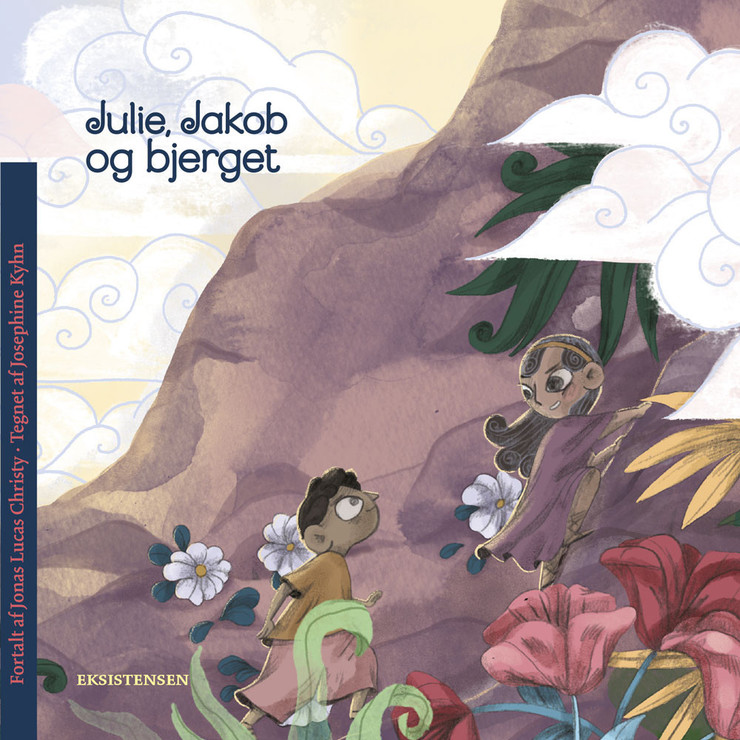 Julie, Jakob og bjerget - bog