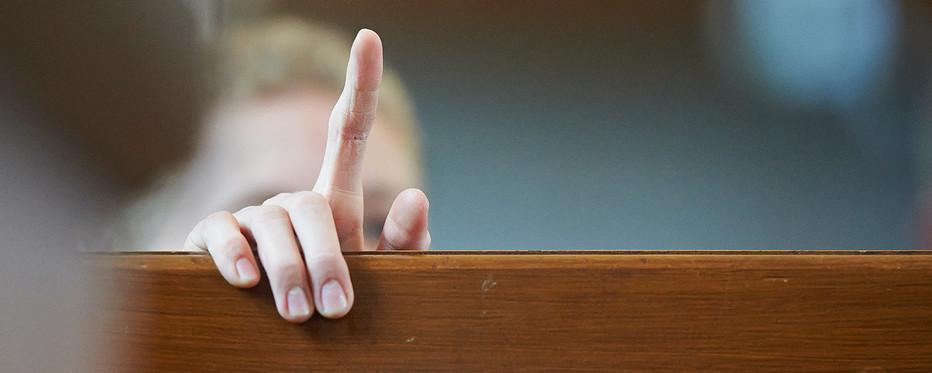 Finger der peger