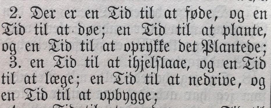 Billede med kirkelig tekst