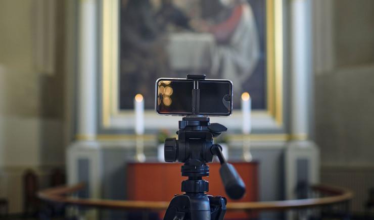 Mobilkamera og alter