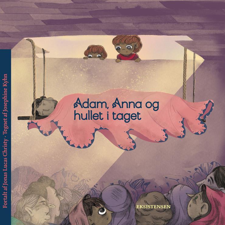 Adam, Anna og hullet i taget - bog