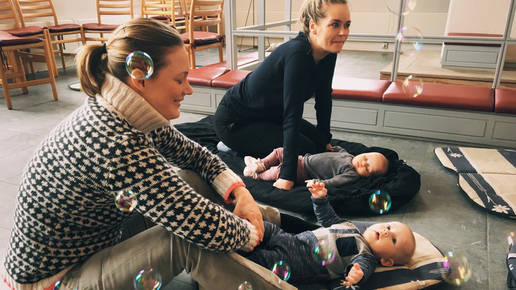 Tumlestik - mødre og babyer