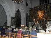 Konfirmander i kirke