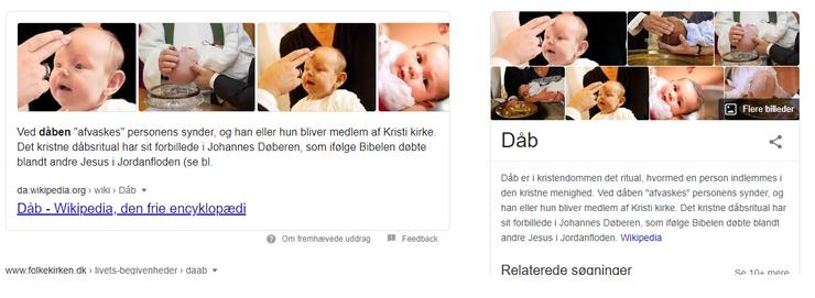Wikipedia - dåbs betydning
