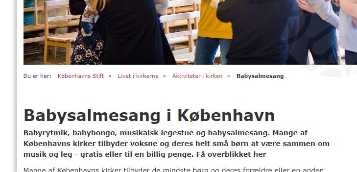 artikel om babysamle