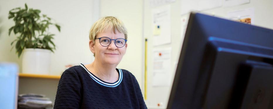 Pressemedarbejder Marianne Holst Hyrlov